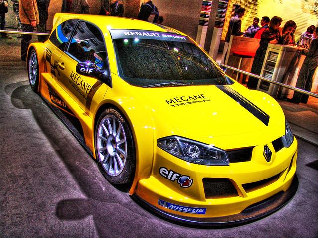 Brussels Motorshow 2006 - Renault Megane Trophy Sport (Front Side)