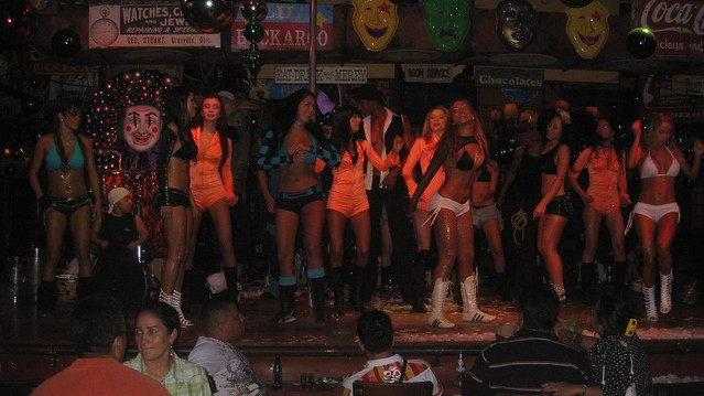 At the end of the night, all the dancers took the main stage