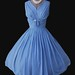 1960's Chiffon dress