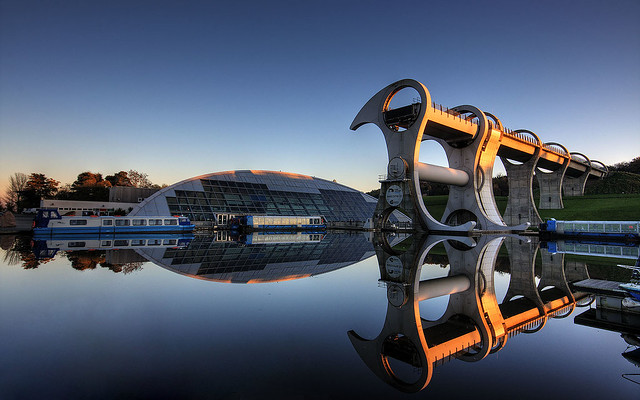 Falkirk Wheel HDR 5 1440 edit