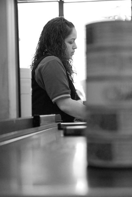 Header of cashier