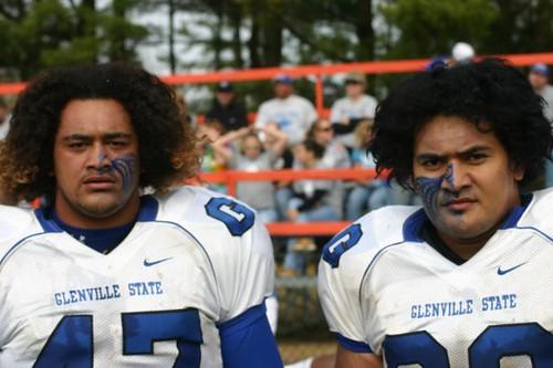 Glenville State Football | Sione Maafu and Faatali Chou ...