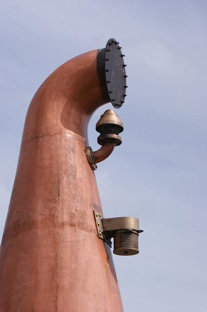 Glenfarclas Distillery - Top of old still