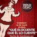 Doningo 26/7 Monologos a la gorra