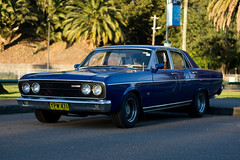 automobile, automotive exterior, executive car, family car, vehicle, ford xy falcon gt, compact car, antique car, sedan, land vehicle, muscle car,