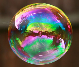 I'm forever blowing bubbles.....