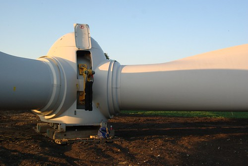 Wind turbine propeller