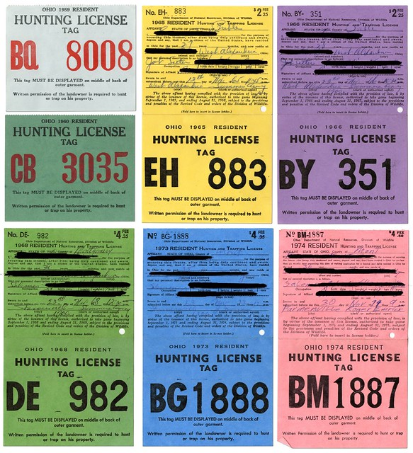 Ohio hunting license flickr photo sharing for Ohio state fishing license
