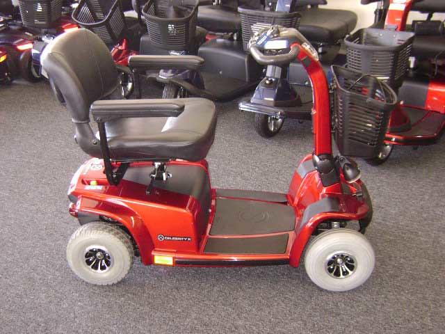 Pride celebrity 4 wheel scooter