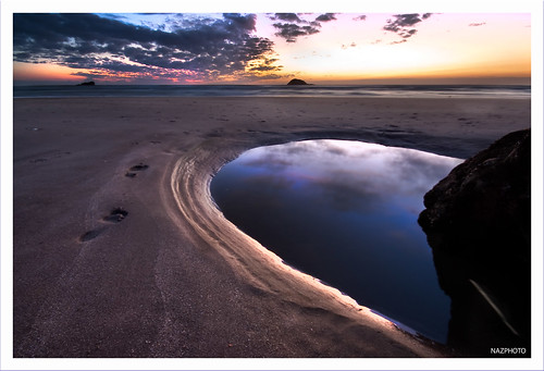 water pools westcoast muriwai maoribay