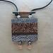 brown grey pendant by Susan L Gross 2