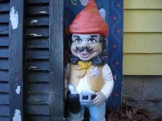 Ron Jeremy as a gnome