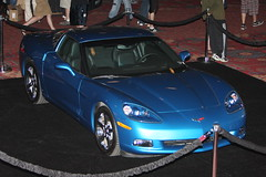 chevrolet(1.0), automobile(1.0), automotive exterior(1.0), wheel(1.0), vehicle(1.0), performance car(1.0), automotive design(1.0), auto show(1.0), chevrolet corvette c6 zr1(1.0), land vehicle(1.0), luxury vehicle(1.0), muscle car(1.0), sports car(1.0),