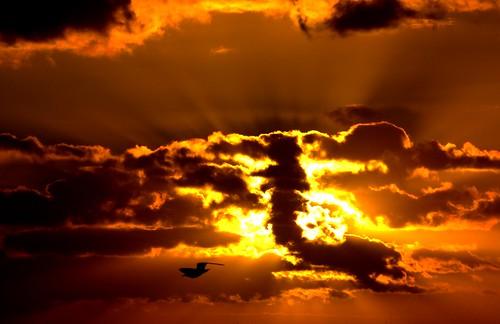 Sky on FIRE...
