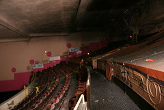 The upper circle in the Coronet Cinema