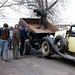 1947 Dodge Dump Truck Towing 1934 Packard, 1970