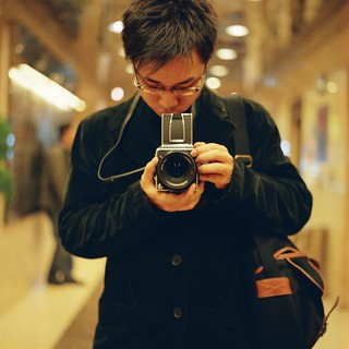 I and My Hasselblad and Vincent