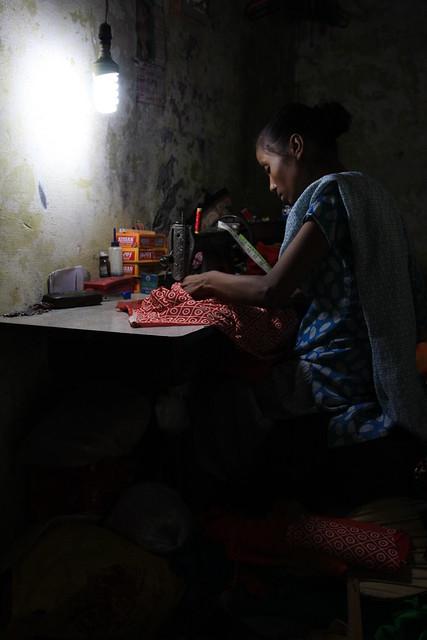 Sewing In Varanasi