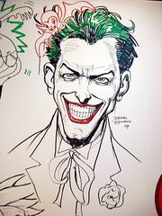 comic book(0.0), joker(1.0), sketch(1.0), fictional character(1.0), drawing(1.0), cartoon(1.0), illustration(1.0),