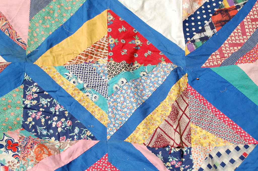 Vintage String Quilt 2 (Detail)