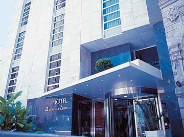 Hotel spa husa jardines de albia bilbao vizcaya espa a for Jardines de albia spa