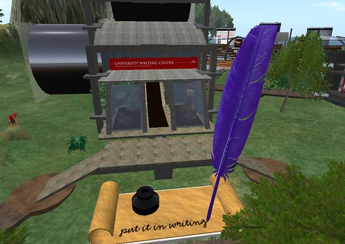 University of Utah Writing Center in Second Life