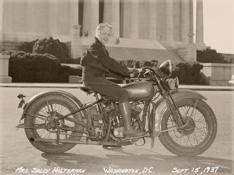 Sally Halterman, Biker Chick