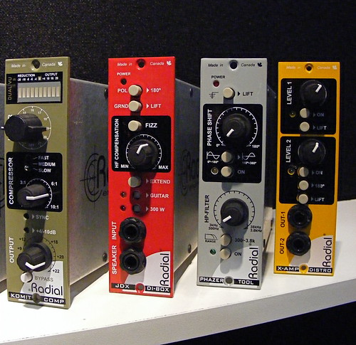 Radial Engineering - 500-series Modules by John Grabowski