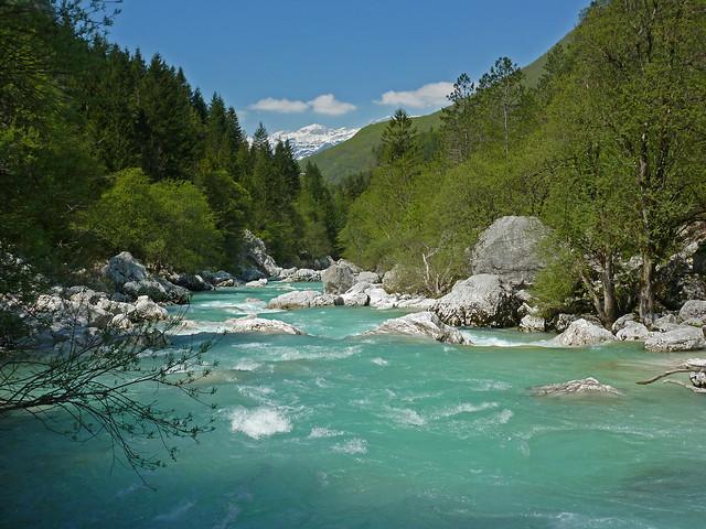 L'Isonzo in Val Trenta