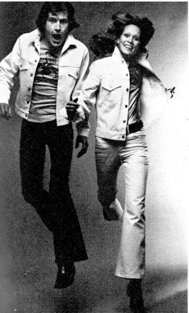 levi jeans ads 1970 s