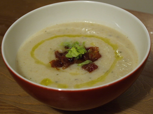 celery root, fennel, potato soup | Flickr - Photo Sharing!