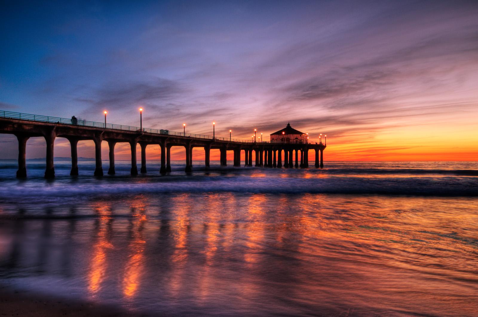 Manhattan Beach Pier |...