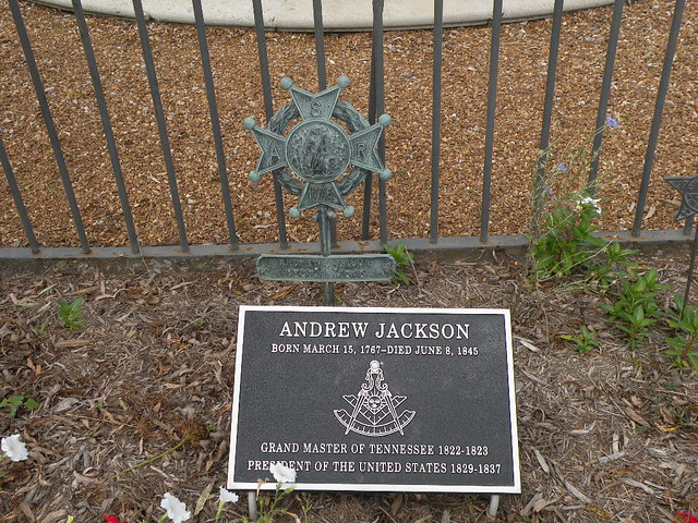 Andrew jackson master of horse and