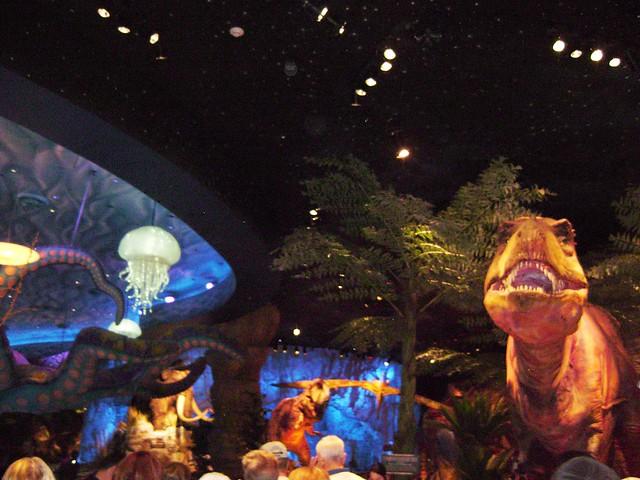 Disney World Animatronic Dinosaur