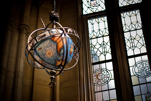 Library Globe. | by Patrick Gage