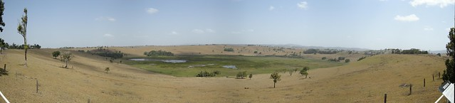 Bromfield Crater & Swamp Panorama, Malanda