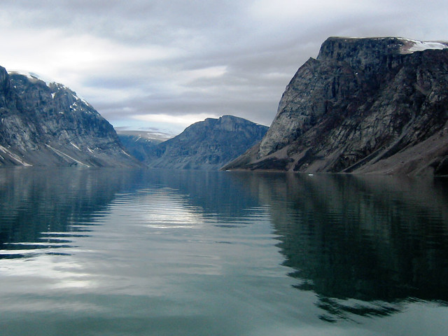 A rarely visited fjord on Baffin