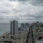 South Beach Miami skyline (south)