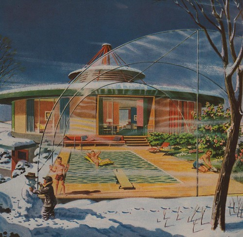 vintage ads advertising power bubble 1957 thefuture paleofuture futurehomes