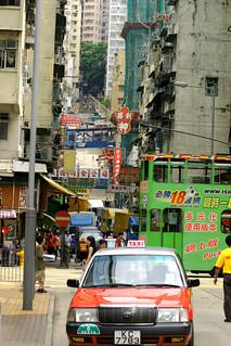 Sharkfin District in Hong Kong