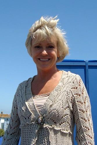 StarCards supporter Sue Barker