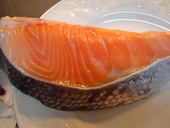 salmon, fish, produce, food, cuisine, smoked salmon,
