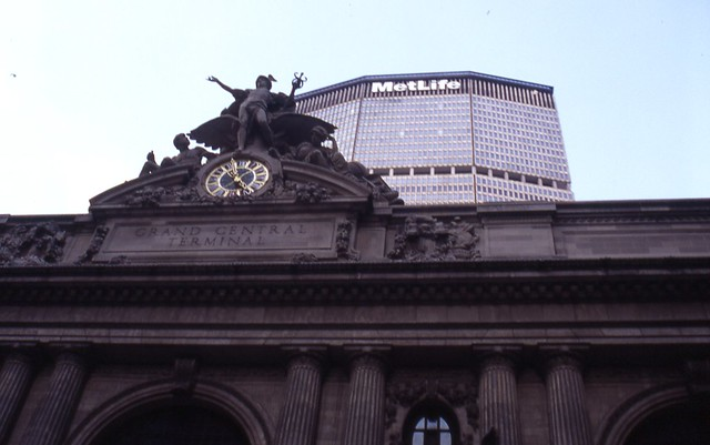 1995 8 New York, Grand Central Terminal the MetLife Building 162