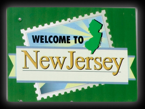 welcome to new jersey sign