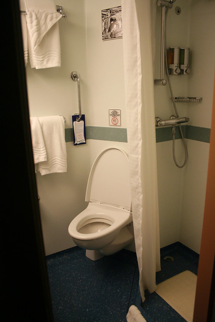 Toilet And Shower Cabin 1101 Carnival Splendor