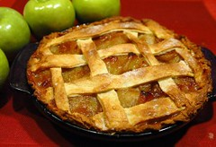 pie(1.0), meal(1.0), breakfast(1.0), rhubarb pie(1.0), baked goods(1.0), produce(1.0), food(1.0), dish(1.0), cherry pie(1.0), cuisine(1.0), apple pie(1.0),