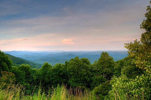 blue mountains north ridge parkway carolina ashe wilkes thelump