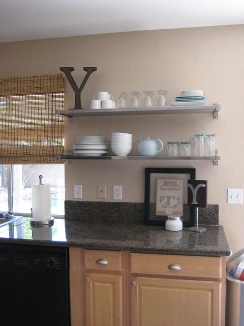 Kitchen shelves 13