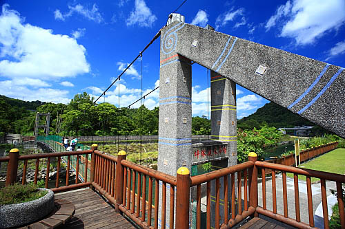 639I坪林親水吊橋