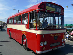 Pebbel Leyland Vintage Bus